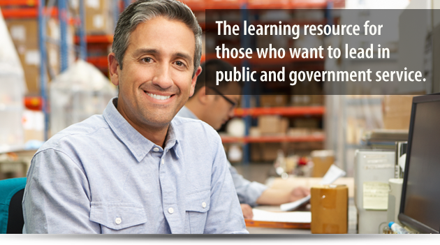 Learning Resources for those who want to lead in the public and government
